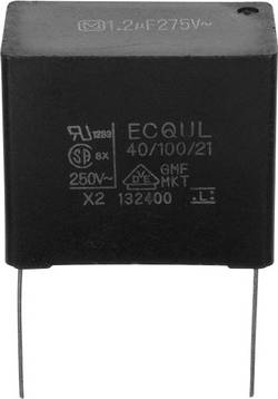 Condensateur polypropylène sortie radiale 3900 pF 275 V/AC 20 % Panasonic ECQ-U2A392ML (L x l) 15 mm x 5 mm 12.5 mm 1 p