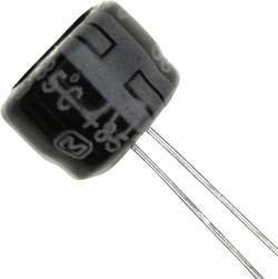 Condensateur électrolytique sortie radiale 220 µF 10 V Panasonic ECE-A1AKS221 (Ø) 8 mm 20 % Pas: 2.5 mm 1 pc(s)