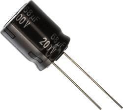 Condensateur électrolytique sortie radiale 82 µF 250 V Panasonic EEU-EE2E820 (Ø) 16 mm 20 % Pas: 7.5 mm 1 pc(s)