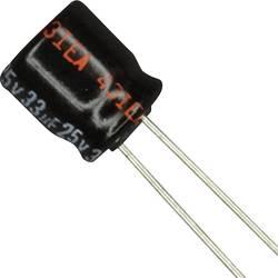 Condensateur électrolytique sortie radiale 33 µF 25 V Panasonic ECE-A1EKA330 (Ø) 6.3 mm 20 % Pas: 2.5 mm 1 pc(s)