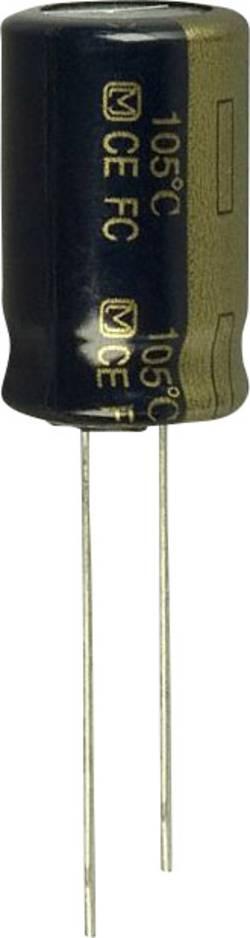 Condensateur électrolytique sortie radiale 820 µF 25 V Panasonic EEU-FC1E821S (Ø) 12.5 mm 20 % Pas: 5 mm 1 pc(s)