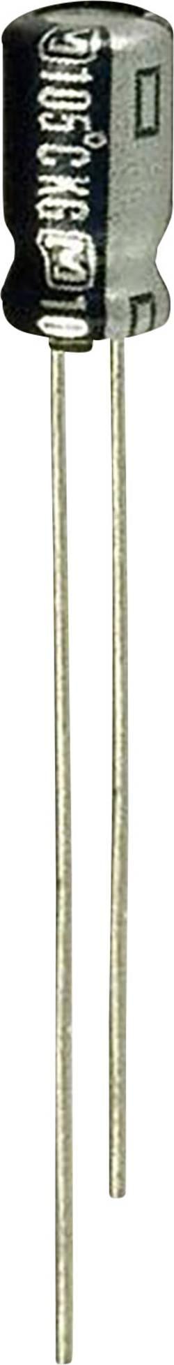 Condensateur électrolytique sortie radiale 0.15 µF 50 V Panasonic ECE-A1HKGR15 (Ø) 4 mm 20 % Pas: 1.5 mm 1 pc(s)
