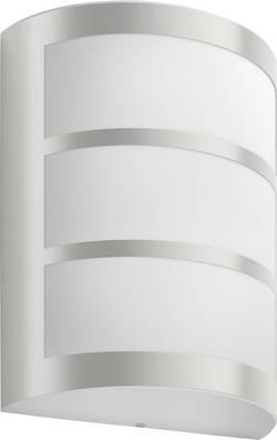 Applique murale LED extérieure Philips Lighting Python 173234716 LED intégrée acier inoxydable
