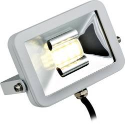 Projecteur LED extérieur blanc chaud Heitronic Manchester 10 W blanc