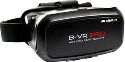 Casque de réalité virtuelle Braun Germany B-VR 360 noir,argent