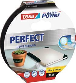 Ruban adhésif toilé tesa® Extra Power tesa 56339-02-01 noir (L x l) 25 m x 19 mm caoutchouc 1 rouleau(x)