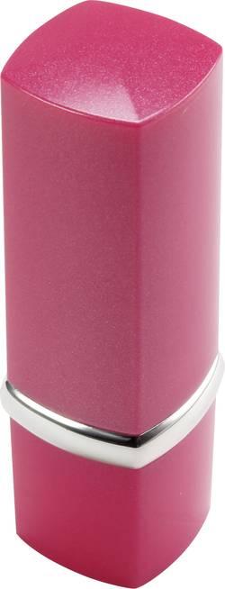 Alarme en forme de tube de rouge à lèvre Basetech 85 dB rose