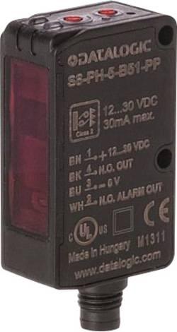 Barrière lumineuse à réflexion DataLogic S8-PR-5-B01-PP 950801160 Portée max. (en champ libre): 5 m 1 pc(s)