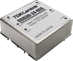 Convertisseur CC/CC pour circuits imprimés TDK-Lambda CCG-30-24-05S 5 V 6 A 30.0 W Nbr. de sorties: 1 x 1 pc(s)