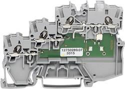 Borne pour actionneurs WAGO 2000-5310/1102-950 7 mm ressort de traction gris 50 pc(s)