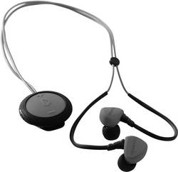 Ecouteurs sport Bluetooth intra-auriculaires Boompods Sportpods Race résistant à la sueur, hydrophobe gris