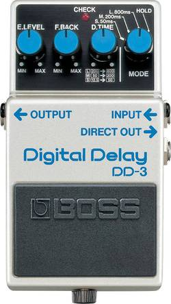 Pédale d'effet pour guitare delay BOSS DD-3