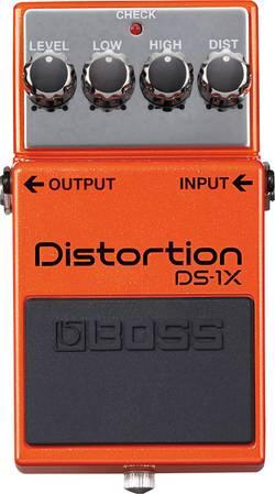 Pédale d'effet pour guitare distortion BOSS DS-1X