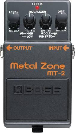 Pédale d'effet pour guitare distortion BOSS MT-2