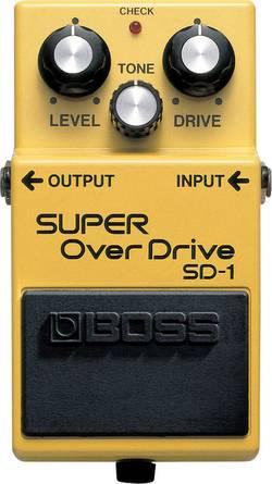 Pédale d'effet pour guitare overdrive BOSS SD-1