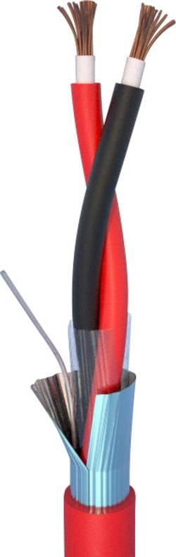 Câble d'alarme incendie LSZH ELAN 282151R 2 x 1.50 mm² rouge au mètre