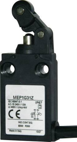 Interrupteur de fin de course 24 V 5 A levier à galet Panasonic MEP1G31Z IP67 1 pc(s)