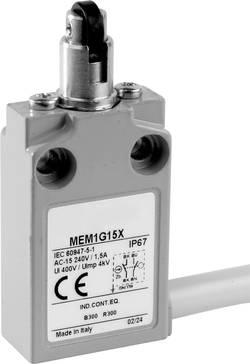 Interrupteur de fin de course 24 V 5 A poussoir à galet transversal Panasonic MEM1G15ZD IP67 1 pc(s)
