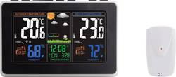 Station météo radiopilotée numérique Eurochron noir, gris