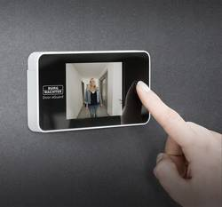 Judas numérique avec écran TFT Burg Wächter Door eGuard DG 8100 8.13 cm 3.2 pouces