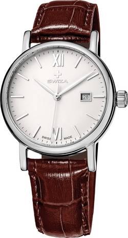 Montre-bracelet analogique SWIZA WAT.0121.1001 à quartz acier inoxydable