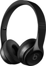 Casque Bluetooth supra-aural Beats Solo³ Wireless pliable, micro-casque noir (brillant)