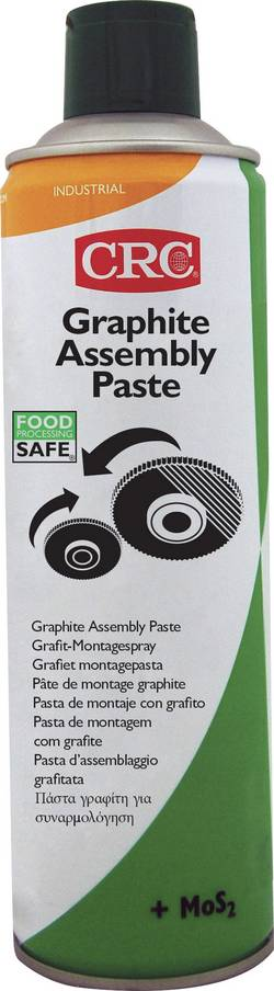 Spray de montage GRAPHITE ASSEMBLY PASTE 500 ml CRC 32639-AA