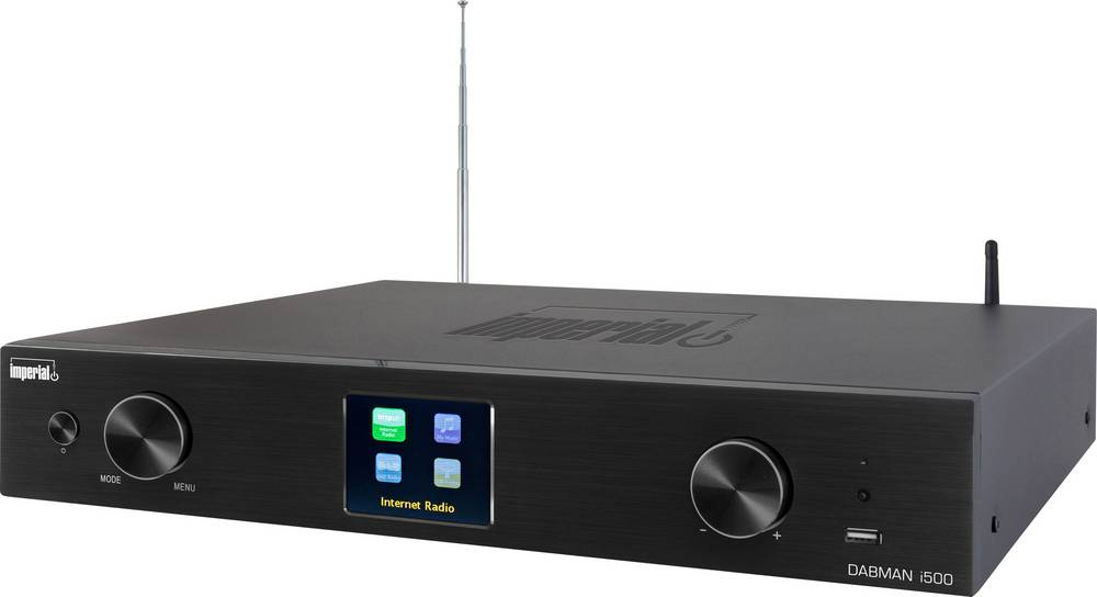 Tuner Hi Fi Pour Radio Internet Imperial Dabman I500 Noir Dab