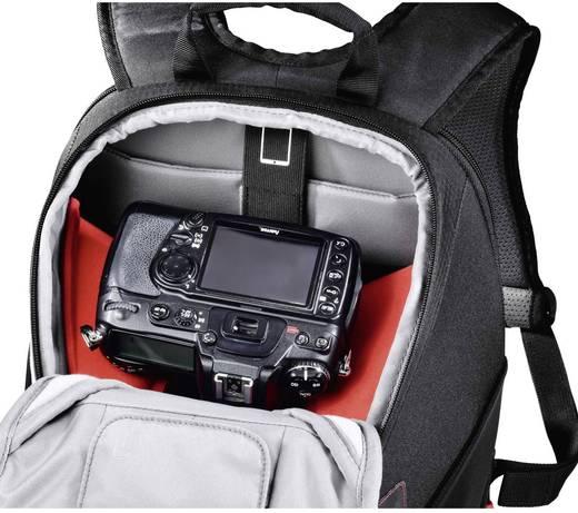 sac dos pour appareil photo hama profitour 180 noir. Black Bedroom Furniture Sets. Home Design Ideas