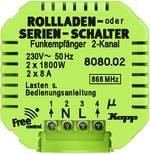 Kopp Kopp Free Control 2 canaux Interrupteur pour volet roulant sans fil