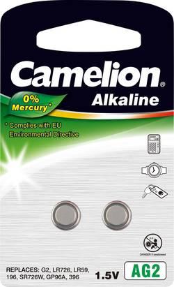 Pile bouton LR 59 alcaline(s) Camelion 25 mAh 1.5 V 2 pc(s)