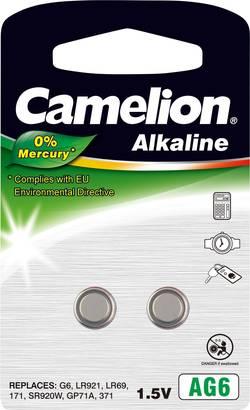 Pile bouton LR 69 alcaline(s) Camelion 25 mAh 1.5 V 2 pc(s)