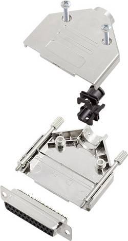 Kit SUB-D femelle 25 pôles encitech DTPK-M-25-DBS-K 6355-0030-13 180 ° fût à souder 1 set