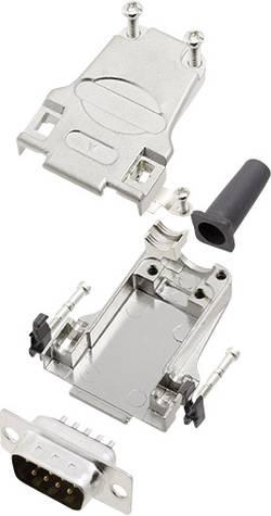 Kit SUB-D mâle 9 pôles encitech DTZF09-DBP-K 6355-0044-01 180 ° fût à souder 1 set