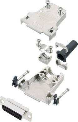 Kit SUB-D femelle 15 pôles encitech DTZF15-DMS-K 6355-0045-12 180 ° fût à souder 1 set