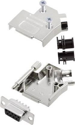Kit SUB-D femelle 9 pôles encitech D45ZK09-DBS-K 6355-0003-11 45 ° fût à souder 1 set