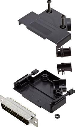 Kit SUB-D mâle 25 pôles encitech D45PK-P-25-DMP-K 6355-0035-03 45 ° fût à souder 1 set