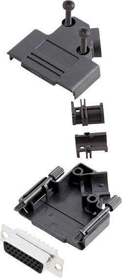 Kit SUB-D femelle 26 pôles encitech D45PK-P-15-HDS26-K 6355-0055-12 45 ° fût à souder 1 set