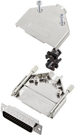 Kit SUB-D mâle 44 pôles encitech DTPK25-M-HDP44-K 6355-0056-03 180 ° fût à souder 1 set