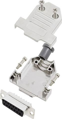Kit SUB-D femelle 15 pôles encitech DTNT15-M-DBS-K 6355-0070-22 180 ° fût à souder 1 set