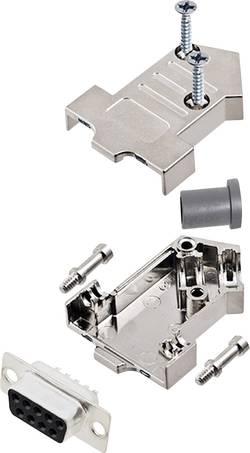 Kit SUB-D femelle 9 pôles encitech D45NT09-M-DMS-K 6355-0072-31 45 ° fût à souder 1 set