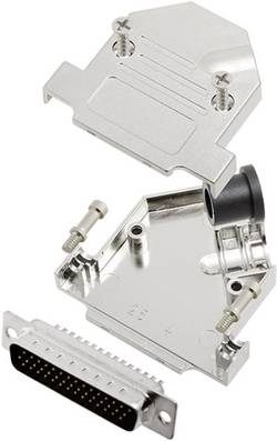 Kit SUB-D mâle 44 pôles encitech D45NT09-M-HDP44-K 6355-0073-03 45 ° fût à souder 1 set