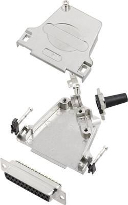 Kit SUB-D femelle 25 pôles encitech D45ZF25-DMS-K 6355-0047-13 45 ° fût à souder 1 set