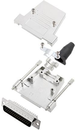 Kit SUB-D mâle 44 pôles encitech DTSL25-T-JSRG+HDP44-K 6355-0041-03 180 ° fût à souder 1 set