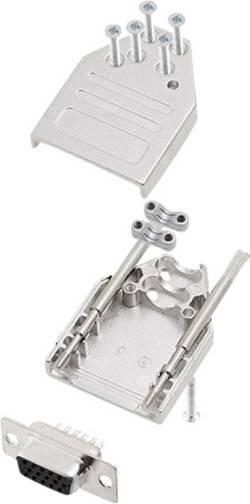 Kit SUB-D mâle 9 pôles encitech DTZI09-HDS15-K 6355-0080-11 180 ° fût à souder 1 set