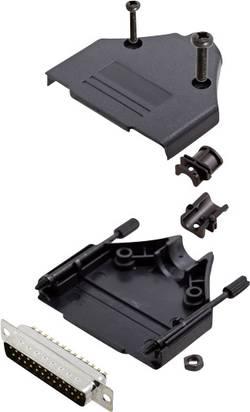 Kit SUB-D mâle 25 pôles encitech DTPK-P-25-DBP-K 6355-0032-03 180 ° fût à souder 1 set
