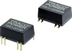 Convertisseur CC/CC pour circuits imprimés TracoPower TDR 3-4822WISM 48 V/DC 12 V/DC, -12 V/DC 125 mA 3 W Nbr. de sortie