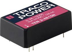 Convertisseur CC/CC pour circuits imprimés TracoPower TEN 3-4812N 48 V/DC 12 V/DC 250 mA 3 W Nbr. de sorties: 1 x 1 pc(s
