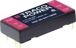 Convertisseur CC/CC pour circuits imprimés TracoPower TEN 40-2411WIN 24 V/DC 5 V/DC 8000 mA 40 W Nbr. de sorties: 1 x 1