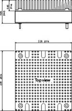 Clip rail DIN TracoPower TEP-MK1 1 pc(s)